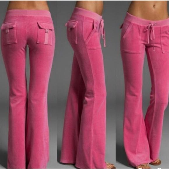 Juicy Couture Pants Jumpsuits Velour Pants Poshmark
